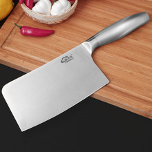 Traditional carbon steel kitchen Accessories knives slicing /chop bone /cutting knife+Chef knives/ Utility Knives Chinese style(China)