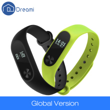 Dreami Global Version Original Xiaomi Mi Band 2 OLED Display Heart Rate Monitor Bluetooth 4.0 Fitness FCC CE
