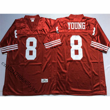 Mens 1994 Retro Steve Young Stitched Name&Number Throwback Football Jersey Size M-3XL(China)