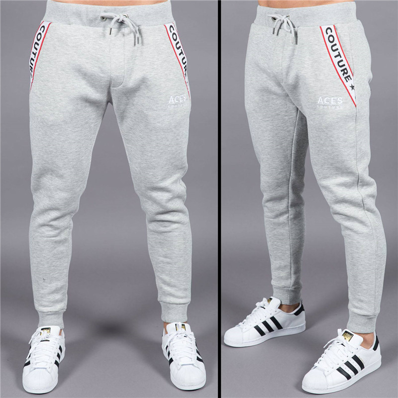 New boutique Brand Gyms Fitness Mens Joggers Casual Men Sweatpants Joggers Trousers Sporting Clothing Bodybuilding Pants men 10