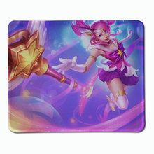 Hot selling LOL beautiful girl skin Series Mouse Pad Computer League of legends large Gaming Mouse Mats Exquisite gift Mousepad
