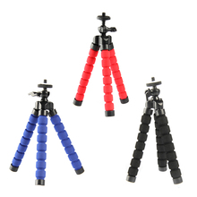 1 Pcs Foam Legs Mini Flexible Octopus Tripod Stand for GoPro SLR DSLR DV Camera Universal for Mobile Phone
