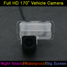 Car Full HD 520 TV Night Vision Reverse Backup Parking Assistance Waterproof Reversing Rear View Camera For Toyota Corolla 2014