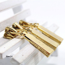 5# Wholesale 10pcs Zipper cool gold Metal Zipper Pulls zipper Head For Handbag/ Backpack/Clothing/Sewing Tailor Tools t39