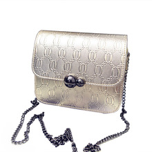 2017 New Mini Flap Handbags Messenger Bag Crossbody Bags For Women Casual Small Chain Leather Bag Flap Silver Gold Pink Handbags