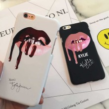 2017 New design fashion Sexy MakeUp Lips Black white Phone Case Cover for iPhone 5 5s 5c SE 6 6s 6plus 7 7plus Hard plastic Case