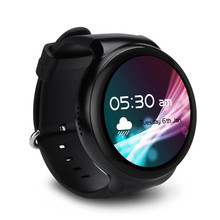 New I4 AMOLED Screen 3G Smart Watch With WiFi Video GPS Location MIC SIM Heart Rate Monitor Android 5.1 Bluetooth Smart Watch(China)