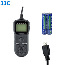 JJC Multi-Function Wired Timer Remote Control Shutter Release Cable Cord for Samsung SR2NX02 Compatible Camera EX2F/NX1/NX20