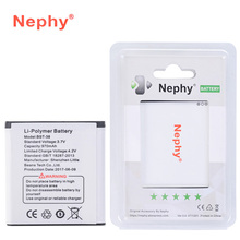 Original Nephy Battery BST-38 For Sony Ericsson U20i R306 S500 S500i T658 C902 C905 K770i K850 K850i K858 W580i W902 W980 970mAh(China)