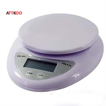 5000g/1g 5kg Food Diet Postal Kitchen Digital Scale scales balance weight Household Scales
