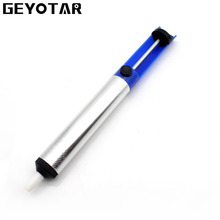 GEYOTAR Solder Sucker For PCB Electronic Device Soldering Iron Tin Sucker Pump Removal DIY Hand Tools(China)