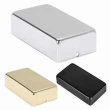 Electric Guitar Humbucker Pickup Cover No Holes Fits for 50mm 52mm Pickup(China)