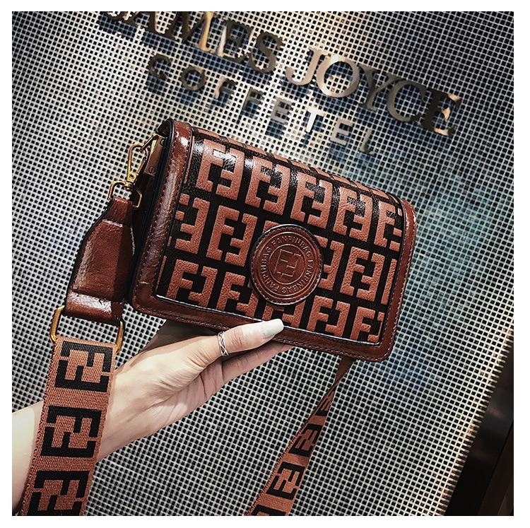 2019 Of The Small Square Fashion Women's vintage Shoulder Bag Shoulder Bag Messenger Bag Mobile Phone Bag Brand original design 20 Online shopping Bangladesh