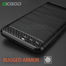 OCGOO Luxury Soft Carbon Cases for Huawei P10 lite P9 Plus Silicon Shockproof Full Cover Case for Huawei P9 lite 2017 P10 Case(China)