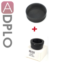 Buy Lens Adapter Suit M42 Mount Lens Suit Micro Four Thirds 4/3 Camera+M42 42mm Screw Lens Rear back Cover Cap for $12.23 in AliExpress store