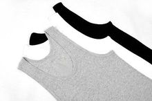 2017 Aakar shan Men Tank Tops Solid Casual Summer O-Neck Muscle Men Top Quality Premium Cotton Shirt Wife Beater Ribbed Tank Top(China)