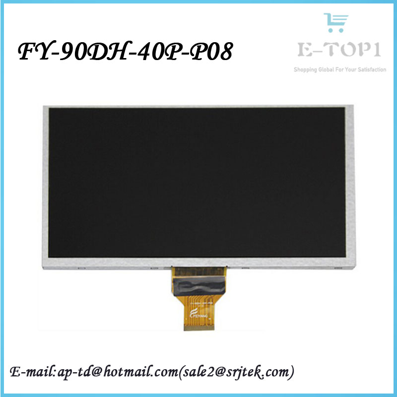 Original 9 inch FY-90DH-40P-P08 tablet lcd screen display lens replacement for Sanei N903 Dualcore 3G Ampe A92 Free shipping<br><br>Aliexpress