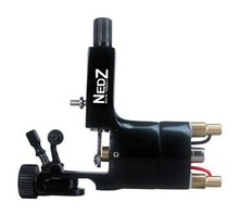 Professional NEDZ Style Rotary tattoo machine Gun Liner Shader U Pick Black for tattoo kit needles grip Supply(China)