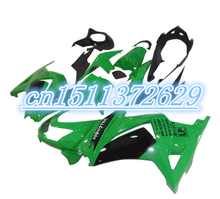 Dor-green black fairings Kawasaki Ninja 250R 2008 2009 2012 EX250 08-12 ZX 250R