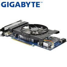 Gigabyte graphics card оригинальный GTX 550 Ti 1 ГБ 192Bit GDDR5 видео карты для nVIDIA Geforce GTX 550Ti HDMI DVI использовать карты VGA(China)