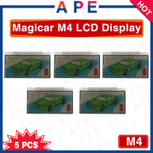 Factory Wholesale free shipping 5PCS Magicar 4 LCD Remote display for SCHER-KHAN M4 LCD remote start 2-way car alarm system(China)