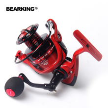 HOT SALE!! Bearking 12+1 Bearing Balls Spinning reel fishing reel 5.2:1 spinning reel casting fishing reel lure tackle line