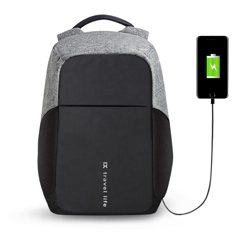 BUG Multifunction USB charging Men 15inch Laptop Backpacks For Teenager Fashion Male Mochila Leisure Travel backpack anti thief<br>