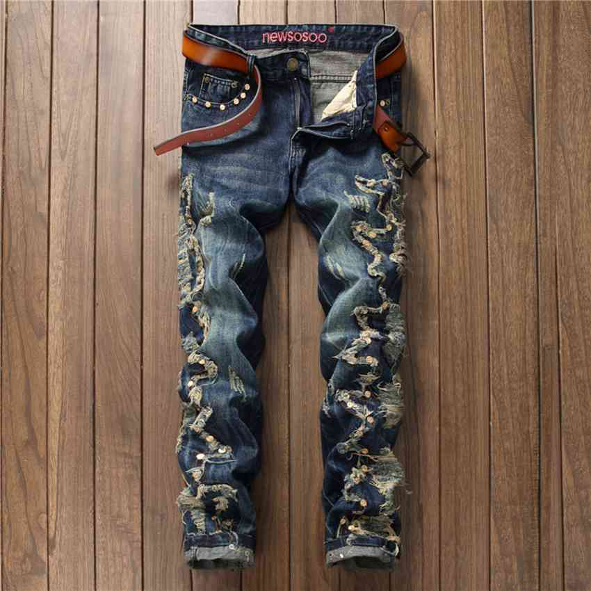#1537 2017 Mens punk pants Denim joggers Men skinny jeans Designer jeans men high quality Cheap-clothes-china Rock jeans PatchÎäåæäà è àêñåññóàðû<br><br>
