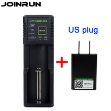Joinrun N1 Plus 18650 battery charger Li-ion Battery Charger For 18650 14500 16340 26650 Ni-MH Ni-Cd AA AAA AAAA Battery(China)