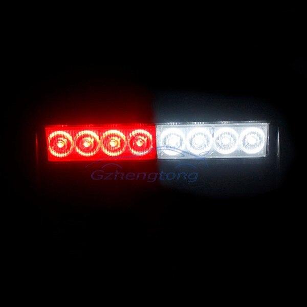 Universal Car Truck Vehiclet 8 LED Strobe Ligh 3 Model Flash Emergency Light DC 12V Red White For Ford Dodge VW Volvo BMW etc.<br><br>Aliexpress