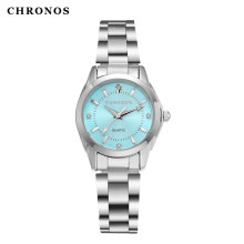 CHRONOS Women Watch Stainless Steel Quartz Watches Fashion Luxury Ladies Watch Japan Movement Clock Wristwatch Relogio Feminino(China)