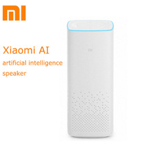 Buy Original Xiaomi AI Smart Speaker Portable BluetoothVoice Remote Control Speaker 2.25 inches WiFi A2DP music Player for $95.36 in AliExpress store