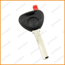 10pieces/lot car transponder chips key covers fob custom for volvo with red plug