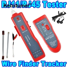 2016 Cat5/6 RJ45 Ethernet LAN Network Cable Tester Detector RJ11 Phone Telephone Wire Tracker Tracer Diagnose Tone Line Finder