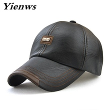 leather baseball cap for men(China)