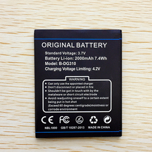 B-DG310 100% Original Mobile Phone Battery For Doogee B DG310 DG 310 2000mah Replacement High Capacity Top Quality in stock