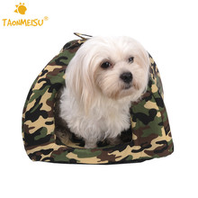 Pet Dogs Cats Warm Nest Mats Bed Washable Nonslip Moistureproof Camouflage Soft bed mat For Puppy Kitten Small Medium Dog Cat