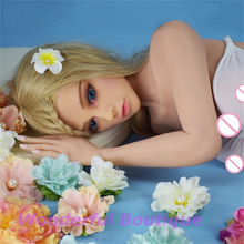 132cm Real Lifelike Silicone Sex Doll artificial Silicone Boobs Vagina Real Love Doll Beautiful Blonde European Free Shipping