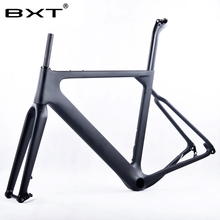 Buy 2018 BXT Carbon Gravel Bike Frame aero Road MTB frame 142x12mm disc brake Cyclocross Gravel Carbon Bicycle Frame for $585.00 in AliExpress store