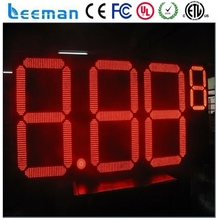 10inch led gas station display price sign Led Gas Price Sign\led oil price display board\digital gas station sign