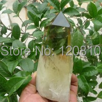 AA00R1172 TOP!!! NATURAL CITRINE QUARTZ CRYSTAL POINT HEALING(China)