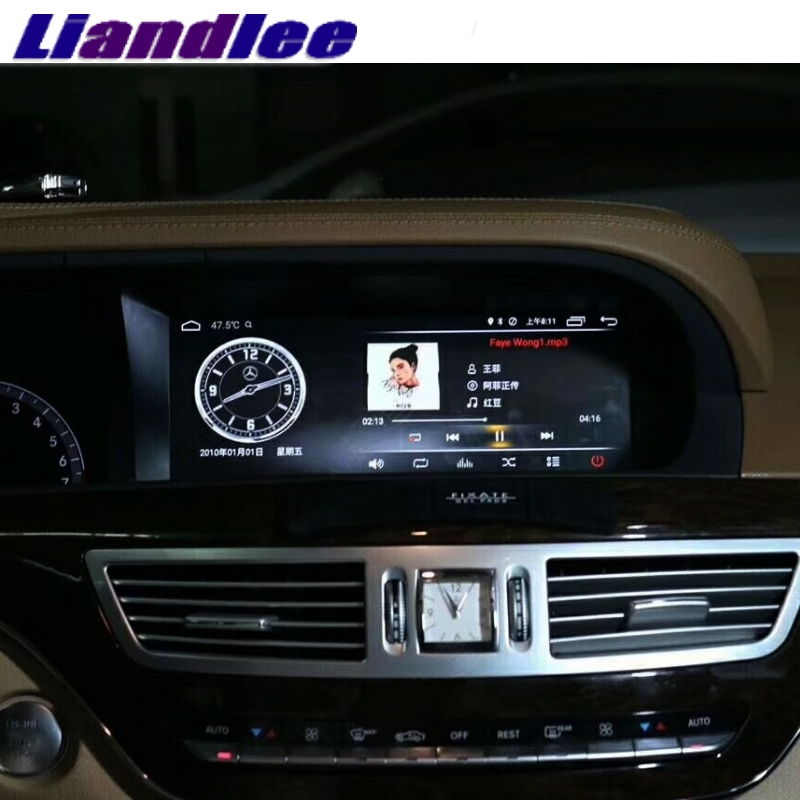 Liandlee Car Multimedia Player NAVI For Mercedes Benz S W221 S280 S320 S400 S600 S63 2006~2013 Accessories Radio GPS Navigation 5