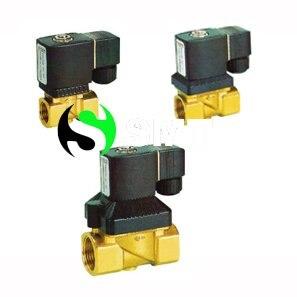 2pcs 1/4 Brass solneoid valve and 1/2 solenoid valve 2pcs  2 x 220v AC coils and 2 x 24v AC coils<br><br>Aliexpress
