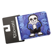 New Game UNDERTALE Call of Duty King of Glory SKYRIM Anime Wallet Short Purse Mens Wallets Slim Leather Money Bolsas Card Holder