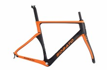 Buy Toray Carbon Matt Glossy Road Bike Frame 52/54cm Fork Seatpost Headset T1000 Carbon road frame for $499.00 in AliExpress store