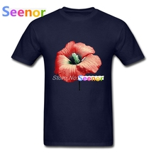 Fashion Men's t-shirt Cool Flower Perfume Simple Style Tee shirts Mens T-Shirt XS,S,M,L,XL,2XL,3XL(China)