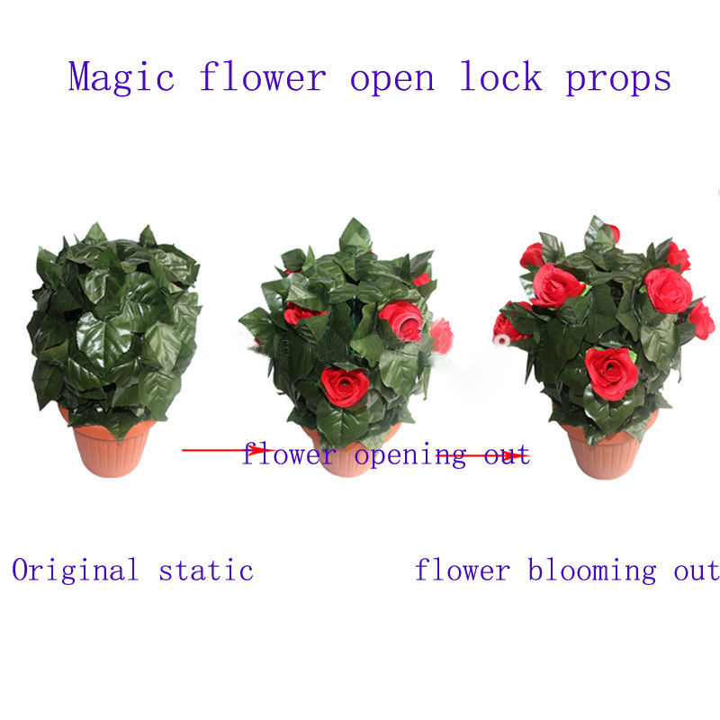 real-life-room-escape-prop-amazing-flower-props-keep-on-touching-the-sensor-flower-blooming-out (3)