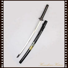 Full Handforged 1045 Carbon Steel Samurai Sword Katana Sharp Edge Real Weapon Traditional crafts