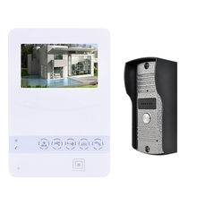 Home Color Video Door Phone Door bell Video Intercom Monitor Kit IR Night Vision Camera Door bell for Apartment