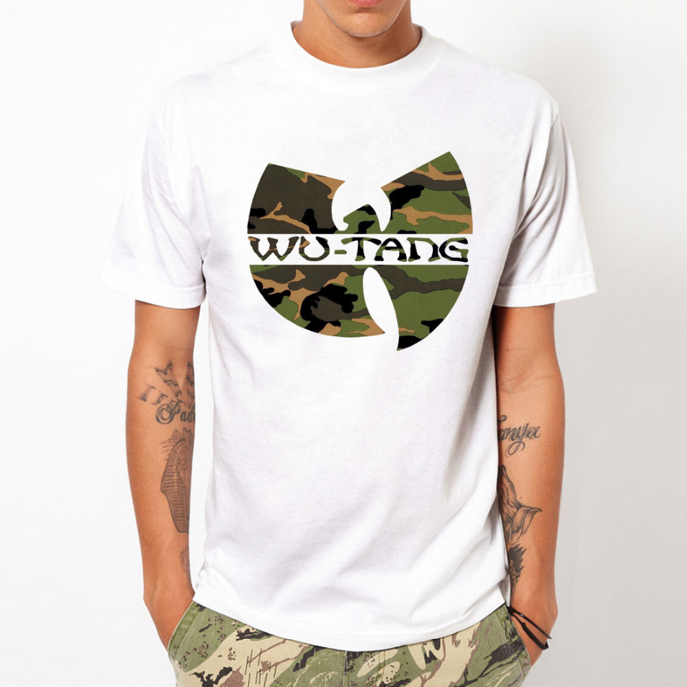 WU TANG CLAN Fashion unique classic cotton men round collar short sleeve T-shirt design